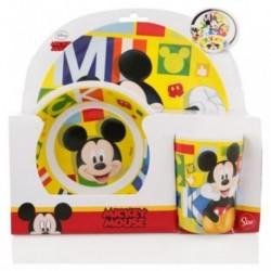 Set Melamina Mickey 3 Piezas