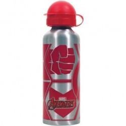 Botella Aluminio Avengers Marvel 520ml.