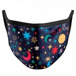 Mascarilla Infantil Reutilizable Estrellas