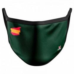Mascarilla Adulto Reutilizable Bandera Verde