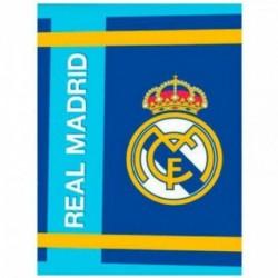 Manta Real Madrid Coralina Premium 130x160cm.250gr