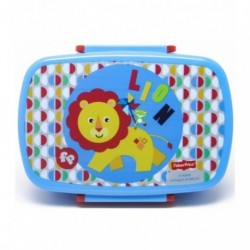 SANDWICHERA TUPPER INFANTIL PVC FISHER-PRICE LEON