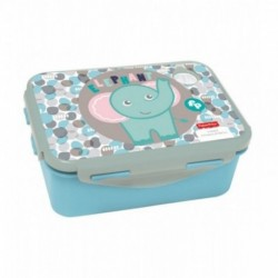 SANDWICHERA TUPPER INFANTIL PVC FISHER-PRICE ELEFANTE