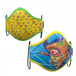 SET 2 MASCARILLAS SUPER THINGS 10-12ANOS
