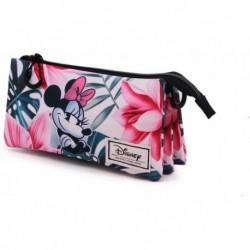 Portatodo Triple Minnie Disney 11x23.5x5cm.