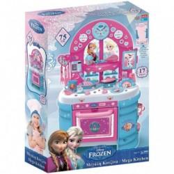 Gran Cocina Frozen Disney ll Con Accesorios y Figuras de accion