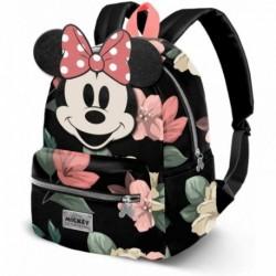 Mochila Fashion Minnie Disney 31x28x15.5cm.