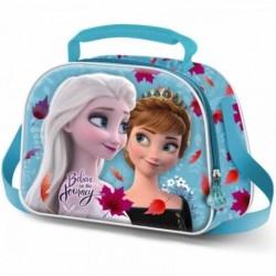Bolsa Portameriendas 3D Frozen Disney 2 Look 20,5x26x10cm.