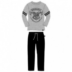Pijama Adulto Harry Potter Algodon 180Gr.C/Caja T. XL