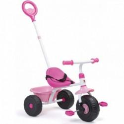 Triciclo Infantil Molto Urban Trike 3 en 1 Rosa