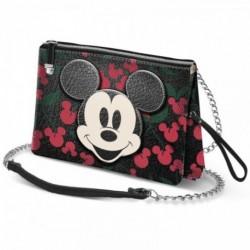 Bolso Cherry Mickey Disney Triple 30x20x2cm.