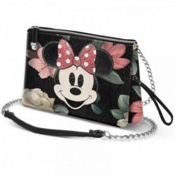Bolso Bloom Minnie Disney Triple 11x8x5cm.