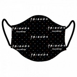 Mascarilla Higienica Reutilizable Friends Adulto