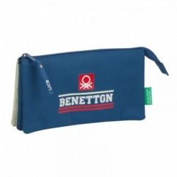 Portatodo Benetton Triple 22x12x3cm.