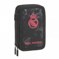 Plumier Real Madrid Triple 41pzs 12,5x20,5x6cm