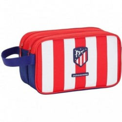 Neceser Doble Atletico Madrid Adaptable 26x15x12,5cm