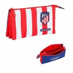Portatodo Atletico Madrid Triple 22x3x10cm.
