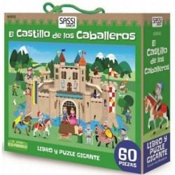 El Castillo de los Caballeros. Puzle gigante 60 Piezas y libro