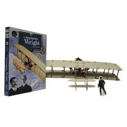 Construye Los Hermanos Wright 3D. Libro + Maqueta 3D.