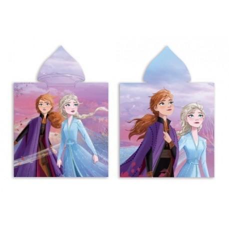 Poncho Frozen ll Disney Microfibra 55x100cm.