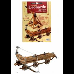 Construye Las Maquinas De Leonardo Da Vinci. Libro + 2 Maquetas.
