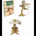 Los ingenios de Leonardo da Vinci: las maquinas voladoras. Libro + 2 maquetas