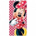 Toalla Minnie Disney Microfibra 70x140cm.