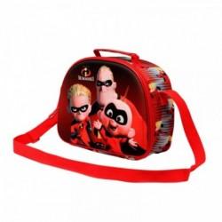 Bolsa Portameriendas 3D Los Increibles
