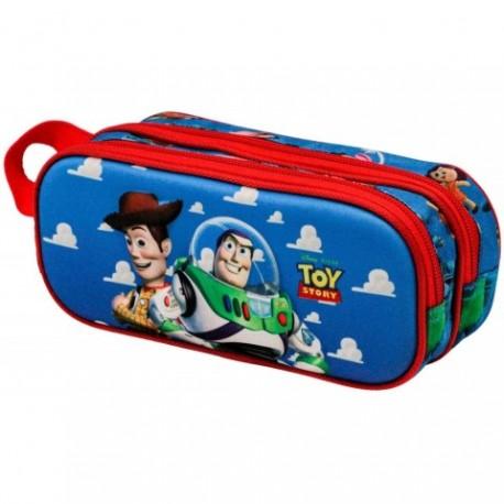 Portatodo 3D Buzz and Woody Toy Story Doble 10x22,5x7cm.