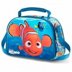 Bolsa Portameriendas 3D Buscando a Nemo Disney 20,5x26x10cm