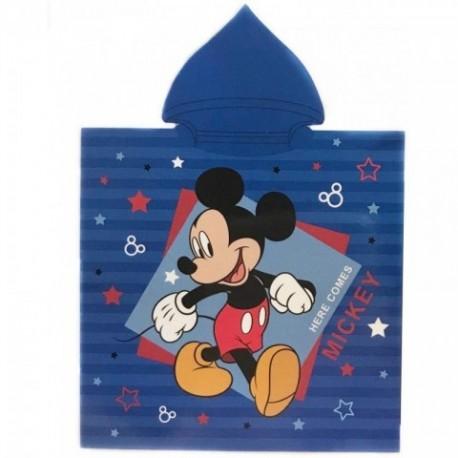 Poncho Mickey Disney Microfibra 50x100cm.