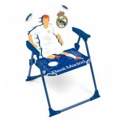Silla Real Madrid Plegable 38X32X53cm.