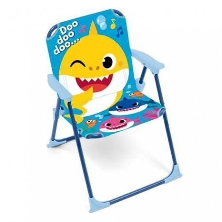 Silla Baby Shark Plegable 38X32X53cm.
