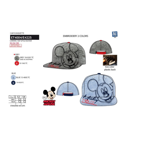 Gorra Mickey Disney Premium T.52-54