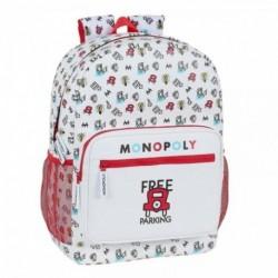 Mochila Monopolu Adaptable 32x14x43cm.