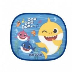 SET 2 VISERAS DE SOL COCHE INCLUYE BABY SHARK LAMINA PARA COLOREAR 44X36CM
