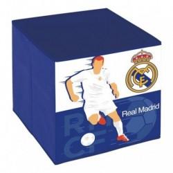 Cubo Contenedor Real Madrid 31x31x31cm.