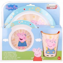 Set Desayuno Micro Peppa Pig