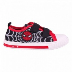Zapatilla Loneta Spiderman Marvel Con Luces 12 Und.T. 25 al 32