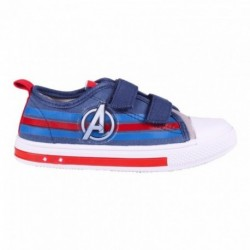 Zapatilla Loneta Avengers Marvel Con Luces 8 Und.T. 25-26-27-28-29-30-31-32