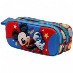 Portatodo 3D Mickey Disney Doble 10x22,5x7cm