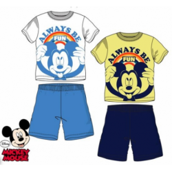 Pijama Mickey Disney 4Und.T. 3-4-6-8