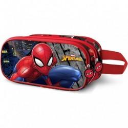 Portatodo 3D Spiderman Marvel Doble 10x22,5x7cm