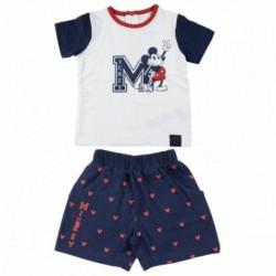 Conjunto Baby Mickey Disney 4Und.T. 3 a 12 Meses