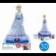 Lampara De Noche Figura 3D Frozen ll Disney 25cm.