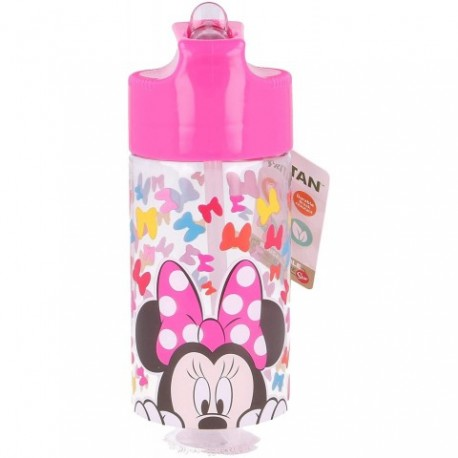 Botella Tritan Hidro Minnie Disney 430Ml.