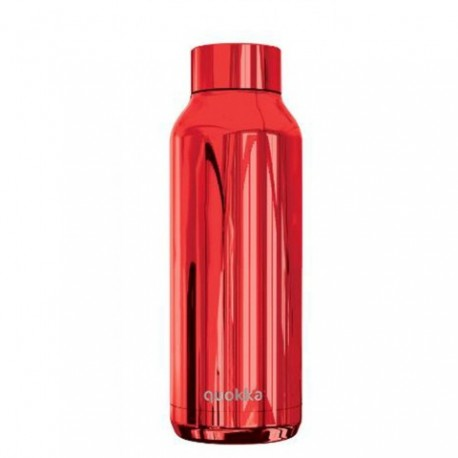 BOTELLA TERMO QUOKKA SLEEK RUBY ACERO INOXIDABLE 630ml.
