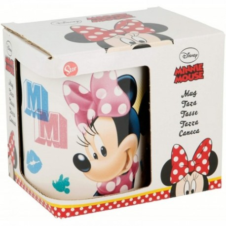 Taza Ceramica Minnie Disney 325ml.