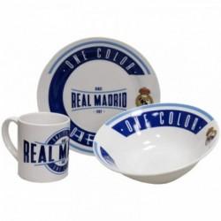 Set De Desayuno Ceramica Real Madrid