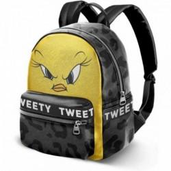 Mochila Fashion Tweety Piolin 31x28x15.5cm